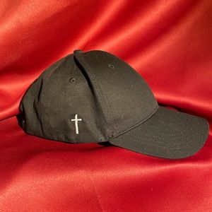 Opening Ceremony 6 Panel Cap w/ cross embroidery